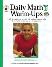 Daily Math Warm-Ups, Grade 5: 180 Lessons and 18 Assessments; 36 Weeks of Lesson