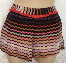 Missoni Mare Shorts Multi Color Knit Size 38