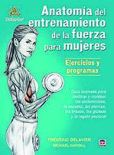 Anatomía entrenamiento de fuerza para mujeres. ENVÍO URGENTE (ESPAÑA)