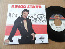 "DISQUE 45T DE RINGO STARR (beatles)  "" PRIVATE PROPERTY """