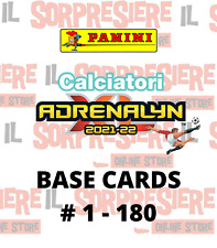 PANINI ADRENALYN XL CALCIATORI 2021-2022 BASE CARDS A SCELTA # 1 - 180