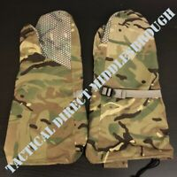 BRITISH ARMY ISSUED EXTREME COLD WEATHER OUTER MITTENS GLOVES MTP CAMO BRAND NEW