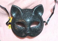 1 NEW SEXY MASK CAT KITTY BLACK SPARKLY