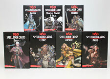Lot of 7 Dungeons and Dragons Spellbook Cards 5E *NEW*