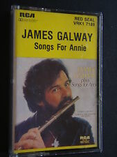 JAMES GALAWAY - SONGS FOR ANNIE CASSETTE