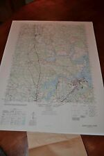 1940's Army topographic map Bermuda Hundred, Hopewell Virginia -Sheet 5558 IV