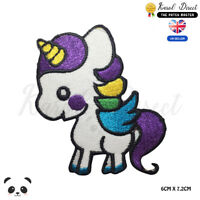 Unicorn Baby Disney Embroidered Iron On Sew On PatchBadge For Clothes Bags etc