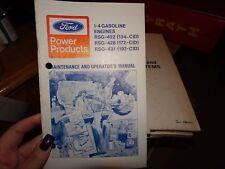 Ford I-4 RSG RSD 422 428 431 Industrial Engine Service Shop Manual  194-112