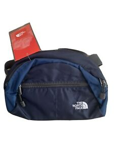 The North Face Roo II Travel Waist/Lumbar Pack NWT In Deep Water Blue/Grey Trim