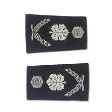 Israel Police Chief Superintendent Commissioner Navy Blue Woven white Labor Rank