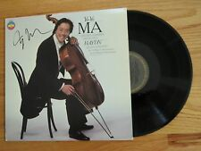 Cellist YO YO MA signed ENGLISH CHAMBER ORCHESTRA HAYDEN 1981 Record / Album COA