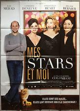 Affiche MES STARS ET MOI Catherine Deneuve KAD MERAD Emmanuelle Béart 120x160 *