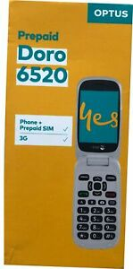 Optus Prepaiad Doro 6520 Optus Phone / Locked to Optus