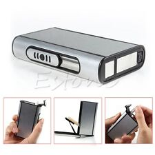 Pocket Aluminum Cigarette Case Box Holder Automatic Ejection Metal Box