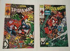 spiderman # 4,5, 1990 mcfarlane