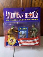 NEW American Heroes US Marine / Japanese Captain Figures Iwo Jim's D-day Pacific