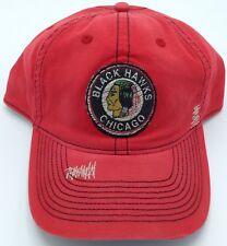 NHL Chicago Blackhawks CCM Vintage Adult Slouch Flex Fit Cap Hat Beanie NEW!