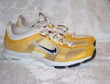 women's Nike Zoom Yellow Mesh Shoes Sz 9 M