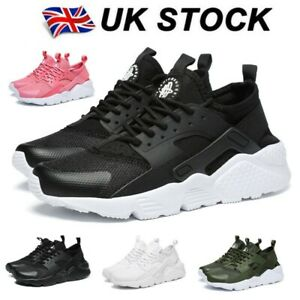 Mens Womens Mesh Running Trainers Gym Sports Shoes Casual Lightweight Pumps Size