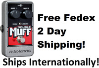 New Electro-Harmonix EHX Double Muff Fuzz Overdrive Effects Pedal