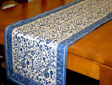 Rajasthan Block Print Table Runner 100% Cotton Floral 72 x 15 Inches