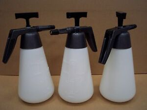 3 X Hand Pressure Sprayers 1.5L For The Price Of 2, Garden, Allotment Weedkiller