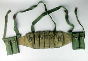 Chinese Type 79 Chest Rig Tokarev 7.62×25 Mag Pouch Ammo Pouch Pack + 2x Pack