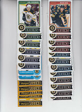 14/15 OPC Boston Bruins Team Set w/RCs and Legends - Chara Orr +
