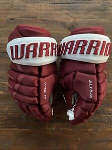 Colorado Avalanche Reverse Retro Warrior Alpha DX Hockey Gloves 👀 🔥