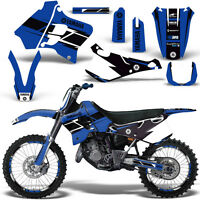 Yamaha YZ125 YZ250 Graphic Kit MX Dirt Bike YZ 125 250 1993-1995 HURRICANE BLUE