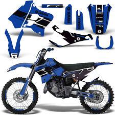 Yamaha YZ125 YZ250 Graphic Kit MX Dirt Bike YZ 125 250 1993-1995 HURRICANE BLUE