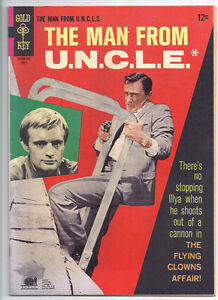 THE MAN FROM UNCLE # 13 SHARP VF Range! PHOTO Cover! Napoleon Solo! $18 = CHEAP!