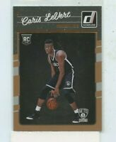 CARIS LEVERT 2016-17 Panini Donruss RC Rookie Card #167 Brooklyn Nets