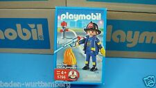Playmobil 5796 firefighter rescue Fire Chief mint in Box geobra toy 111