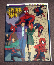 Comic Book pull-outs SPIDER-MAN Poster - stickers - web shooter game