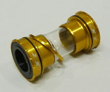 CNC BOTTOM BRACKET FOR SHIMANO BB 86 91 92 ROAD MTB EXTERNAL GOLD 81g THREADLESS