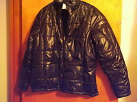 "BRAND NEW LADY'S ""FADED GLORY"" BLACK WINTER REVERSABLE JACKET,,SZ..SMALL"