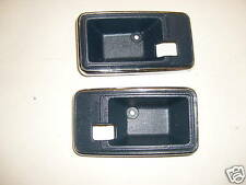 1975 - 1981 TRANS AM FIREBIRD CAMARO INTERIOR DOOR HANDLE BEZEL SET - DARK BLUE