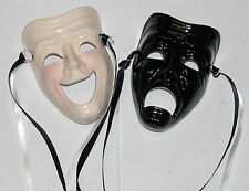 Unique Creations Small Classic Comedy / Tragedy  Face Mask Wall Hanging Decor