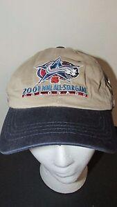 Colorado 2001 NHL Hockey All Star Game Zephyr Hat NWT khaki & blue