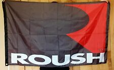 Ford Mustang Roush 3' X 5' Polyester Flag Banner Man Cave Bar NEW 5.0 Cobra
