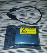Samsung T5 Portable SSD - 500GB - USB 3.1 External SSD MU-PA500B/AM Blue