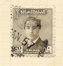 Iraq 1954 antiguo problema Fine Used 20 F. 166198