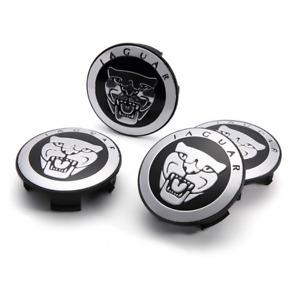 4Pcs 59mm Car Wheel Center Hub Cap Cover Emblem Accessories for Jaguar New
