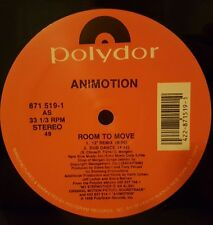 """Animotion - Room To Move 12"""" 33RPM Vinyl Record 871 519-1"""