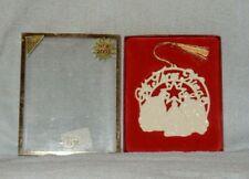 Lenox 2003 We Three Kings 7th Hymn Series Christmas Ornament in Box