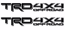 TRD OFF ROAD 4x4 BLACK Decals /Vinyl Stickers 1 PAIR truck bed FREE SHIPPING