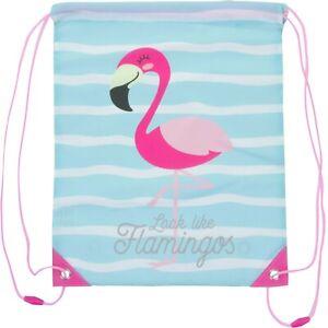 Look like a Flamingo Children Kids PE Gym Drawstring Bag