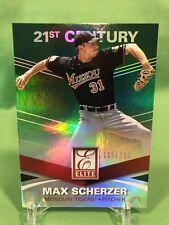2015 Panini Elite Max Scherzer Status Green /199