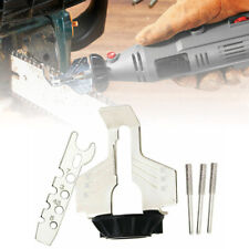 Chainsaw Sharpening Attachment Chain Saw Tool File Grinder Electric-Rotary Kit